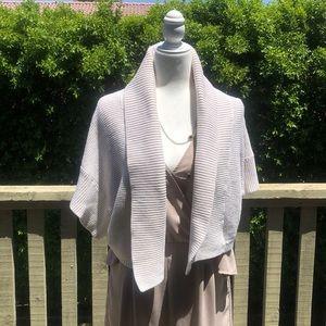 Crop knit cadigan size M/L old navy